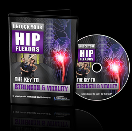 Unlock Your Hip Flexors DVD - Unlock Your Glutes - Conversion Monster!
