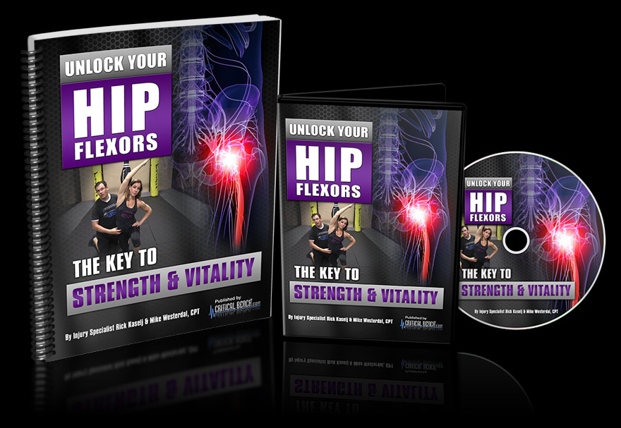 Unlock Your Hip Flexors - Unlock Your Glutes - Conversion Monster!