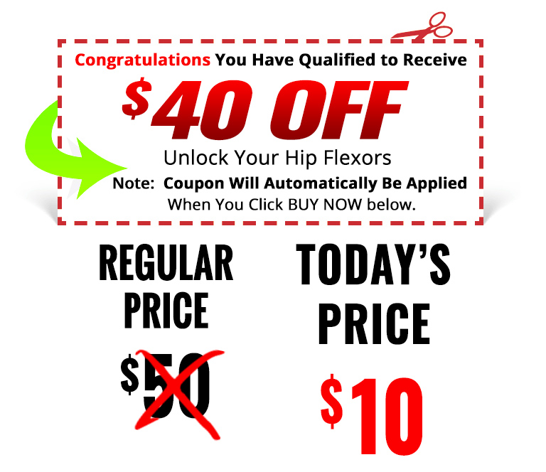 coupon 10 - Unlock Your Glutes - Conversion Monster!